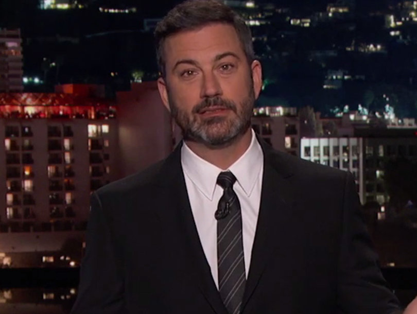 Jimmy Kimmel Calls Out Trump and Republicans for Falsely Labeling Obamacare a 'Disaster'