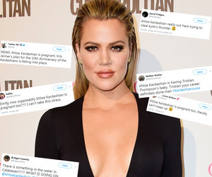 Twitter's Most Savage Reactions to Khloe Kardashian's Baby Bombshell