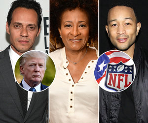 18 Hollywood Tweets Ripping Trump Over NFL Feud, Puerto Rico