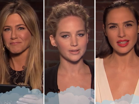 Jennifer Aniston, Jennifer Lawrence, Gal Gadot Read Really Mean Tweets