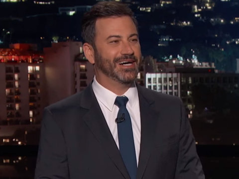 Kimmel Celebrates GOP Health Care Failure With Montage of Trump's Hypocrisy
