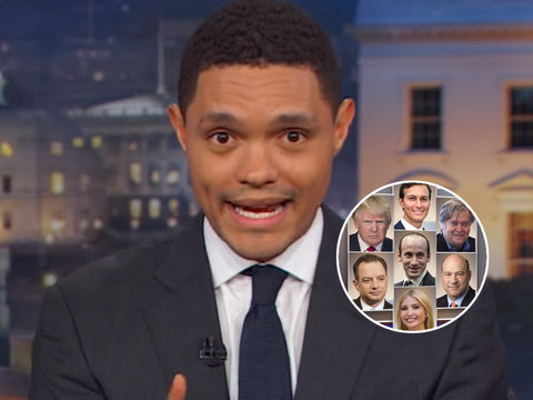 Trevor Noah Blasts Trump's Team Over Hillary Clinton Email Hypocrisy