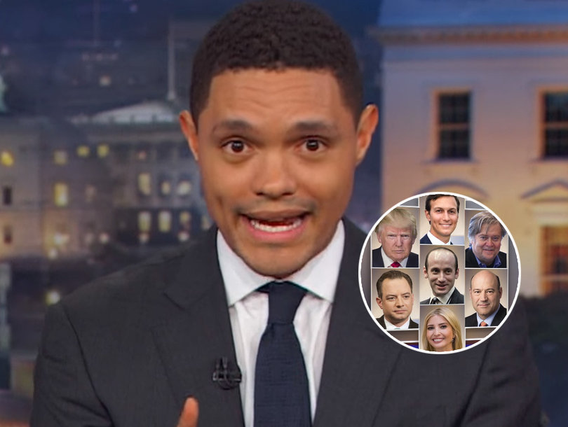 Trevor Noah Blasts Trump Team for Doing Everything They Complained About Hillary Clinton Doing