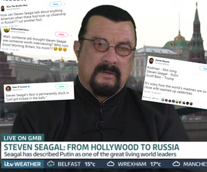 Steven Seagal 'Under Siege' After Bashing 'Disgusting' NFL Players