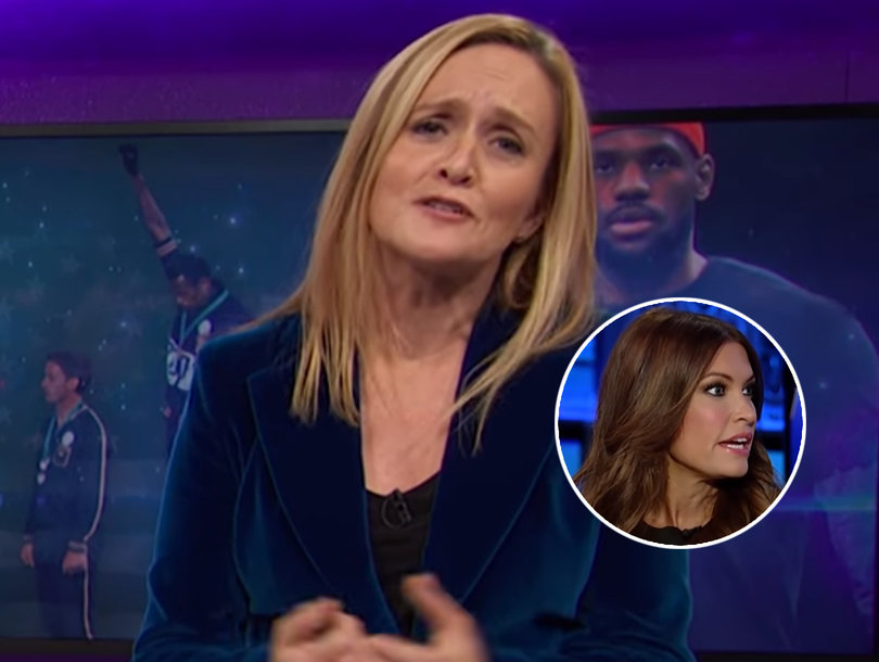 Samantha Bee Blasts Fox News and Its Biggest Fan, Donald Trump, for Hypocrisy Over NFL Protests