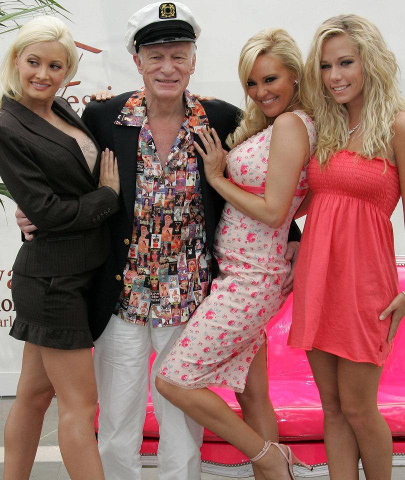 'The Girls Next Door' React to Hugh Hefner's Death