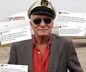 Feminists Rail on Playboy Hugh Hefner for a Lifetime Spent Objectifying Women