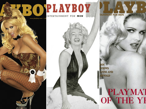 13 Most Iconic Playboy Magazine Covers Toofab Com