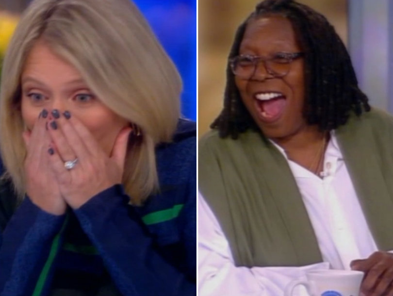 'View' Co-Host Sara Haines Drops S-Bomb After Mixing Up Pronouns for Caitlyn Jenner