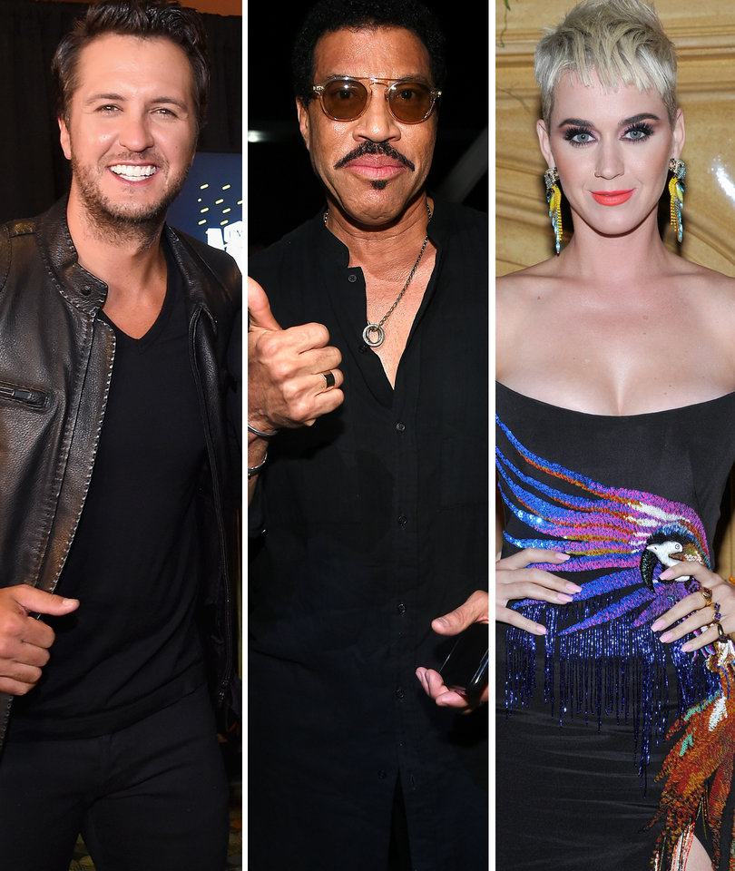 Luke Bryan and Lionel Richie Join Katy Perry as Judges for 'American Idol'