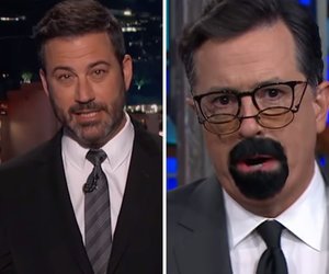 Colbert, Kimmel Target Steven Seagal for Bashing NFL Kneelers
