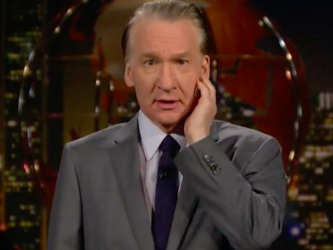 Bill Maher Takes a Knee on 'Real Time' to Stand With NFL Players