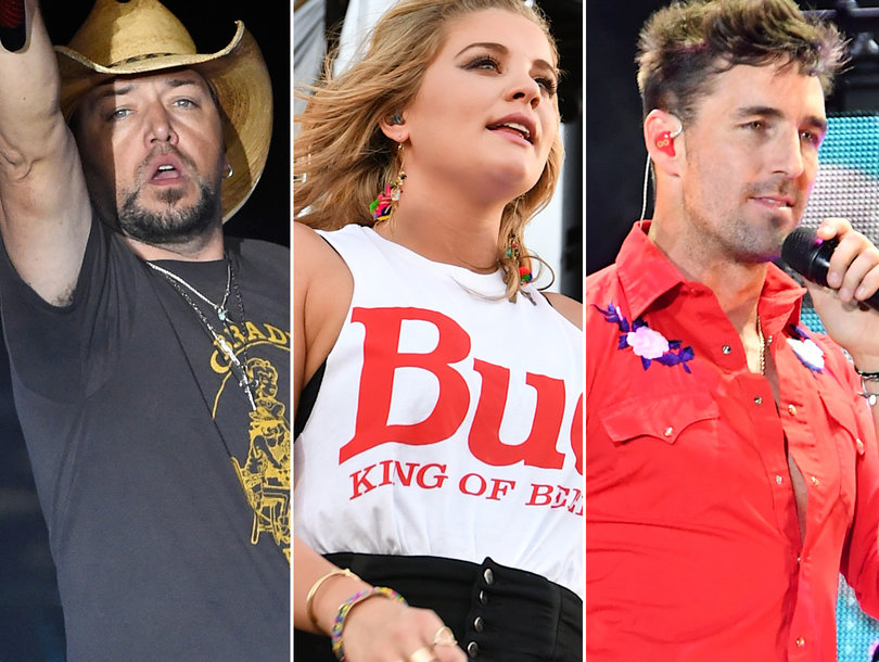 Las Vegas Shooting: How Jason Aldean and Other Country Stars at Route 91 Harvest Festival Are Reacting