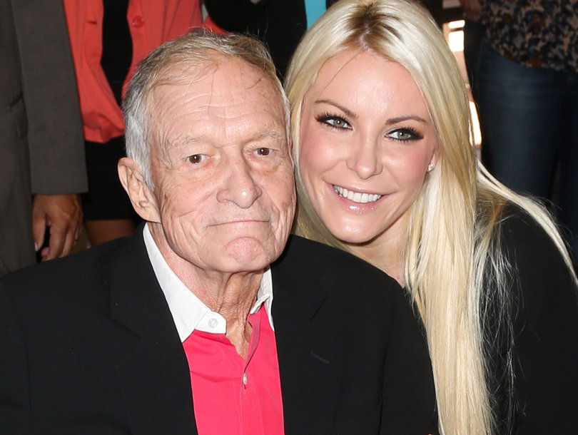Crystal Hefner Breaks Silence on Hugh Hefner's Death: 'He Was an American Hero'