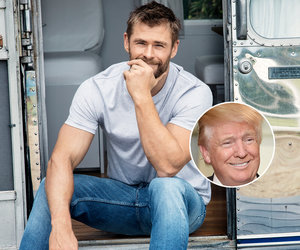 Why Chris Hemsworth Thinks the Trump Administration Is 'Scary'