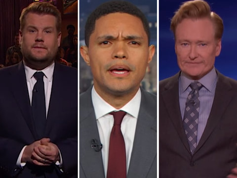 Late-Night TV Unanimously Declares It's Time for More Gun Control