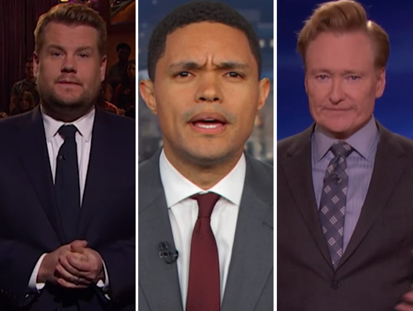 Late-Night Hosts Unanimously Demand More Gun Control in Wake of Las Vegas Shooting