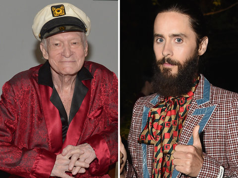 Jared Leto to Play Hugh Hefner In Upcoming Biopic