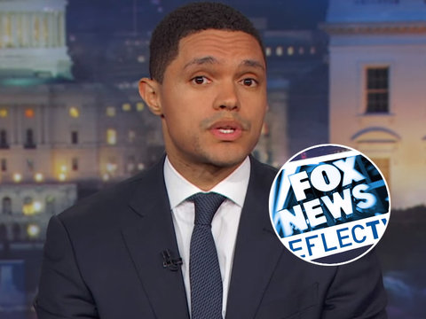 Trevor Noah Rips Fox News' 'B.S.' Plea to Not 'Politicize' Vegas Shooting