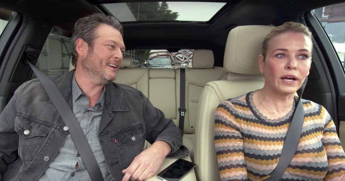 Blake Shelton Tries to Write Country Song About 'Lonely, Miserable' Chelsea Handler on 'Carpool Karaoke'