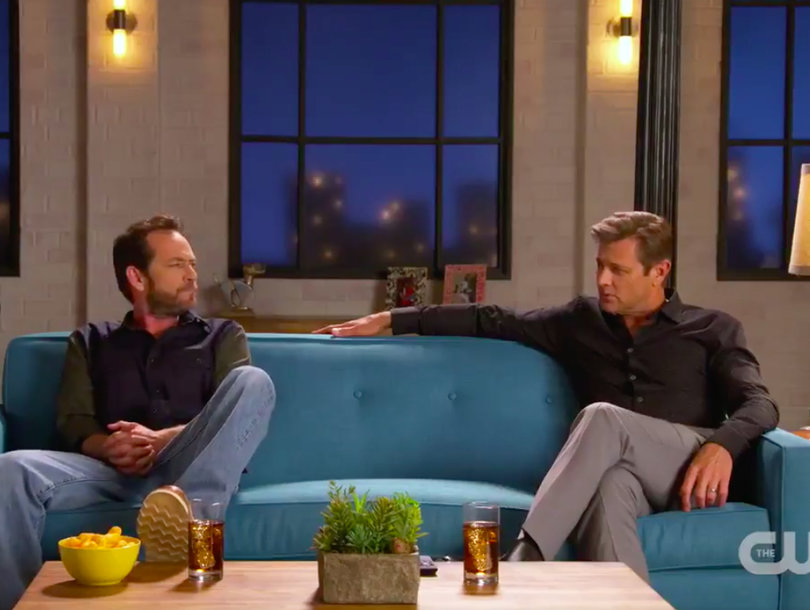 Didn't We Both Smash Kelly Taylor? Grant Show, Luke Perry Use '90210'-'Melrose' Roots to Tease New CW Lineup