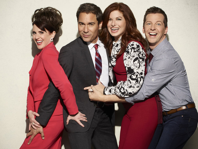 'Will & Grace' Blooper Reel From Season Premiere Is Funny -- F-Bombs, Pillow Fights and Crotch Grabs!