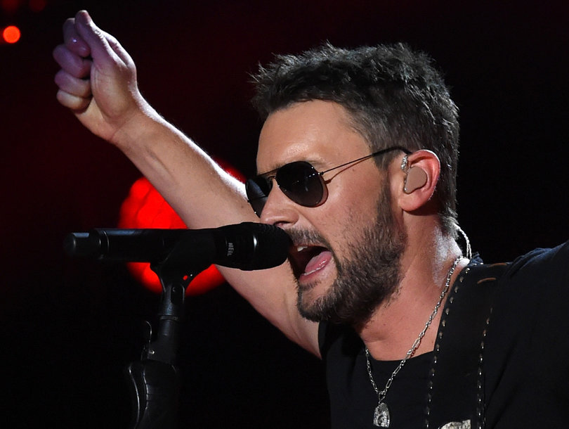 Country Star Eric Church Fights Back Tears During Emotional Tribute to Las Vegas Shooting Victims