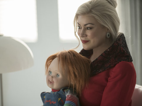 'Cult of Chucky' Star Jennifer Tilly on Where Franchise Can Go After Crazy Ending