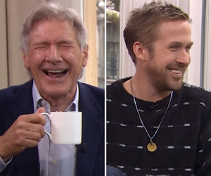 Gosling Breaks Out Booze Alongside Ford as Interview Goes Off the Rails