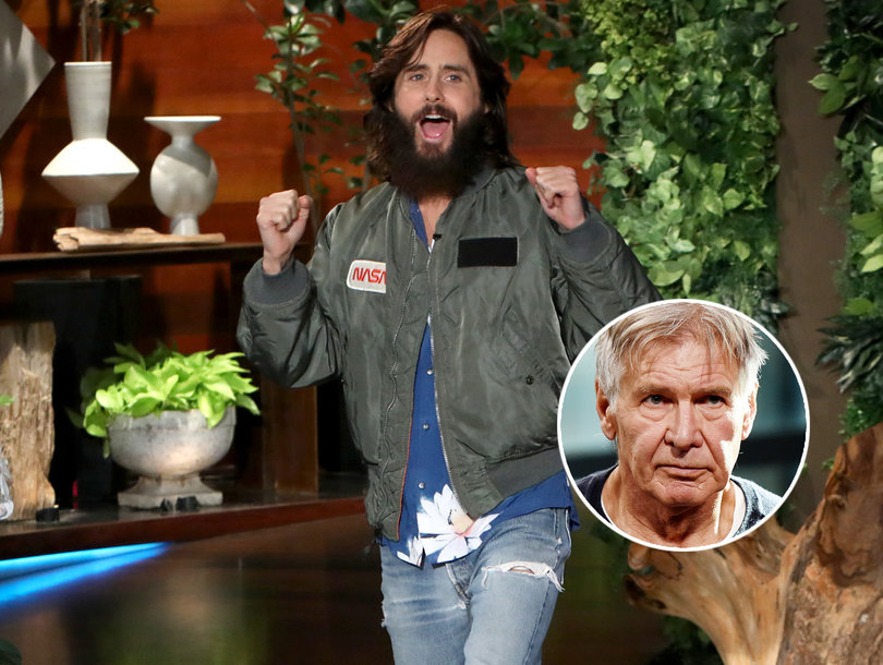Jared Leto Is Absolutely Terrified of 'Very Intense' Harrison Ford