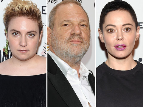 Dunham, McGowan Among Stars Speaking Out After Bombshell Weinstein Report