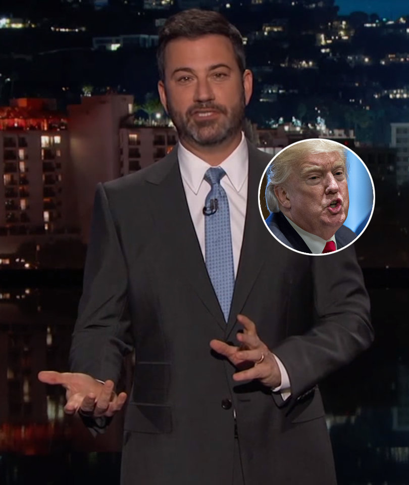 Jimmy Kimmel Tears Into Trump for Being the Epitome of 'Fake News'