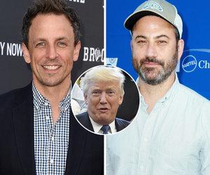 Jimmy Kimmel and Seth Meyers Troll Donald Trump on Twitter