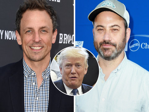 Jimmy Kimmel and Seth Meyers Troll Donald Trump on Twitter