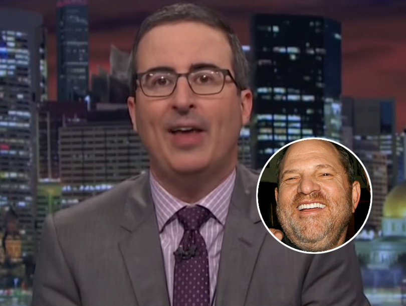 John Oliver Shreds Harvey Weinstein for Sexual Harassment: 'Your Excuse Is Not an Excuse'