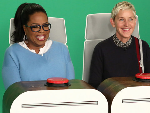 Oprah Has an Absolute Blast Answering Ellen's Burning Questions