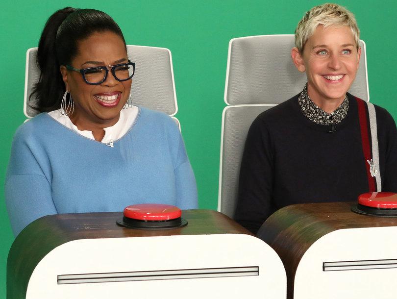 Oprah Has an Absolute Blast Answering Ellen's Burning Questions