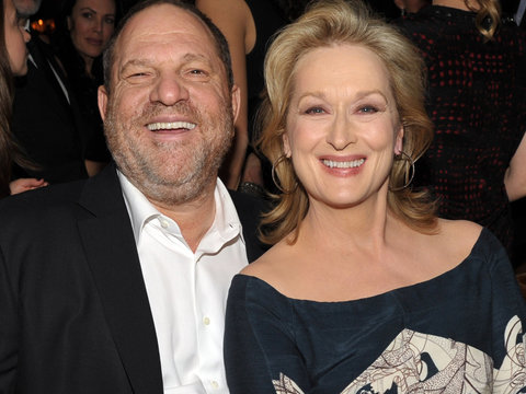 Meryl Streep Condemns Harvey Weinstein's 'Disgraceful' Behavior: 'Not Everybody Knew'