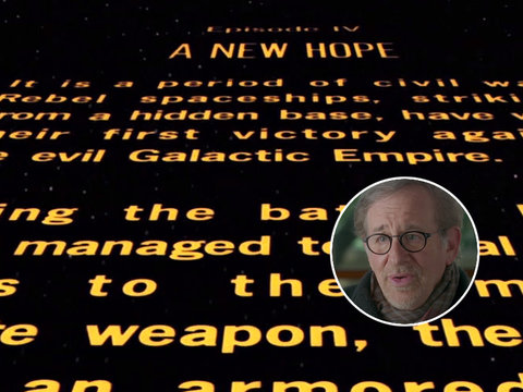 Steven Spielberg Gives 'Star Wars' Opening Crawl a New Origin Story