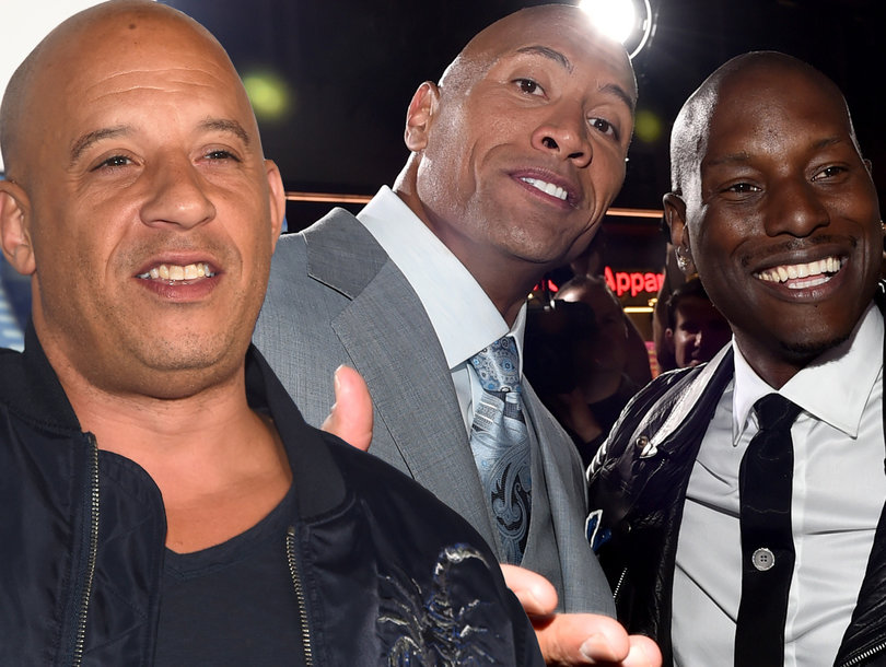 The Rock Says 'Candy Asses Need Not Apply' for 'Fast & Furious' Spinoff Amid Drama With Co-Star Tyrese Gibson
