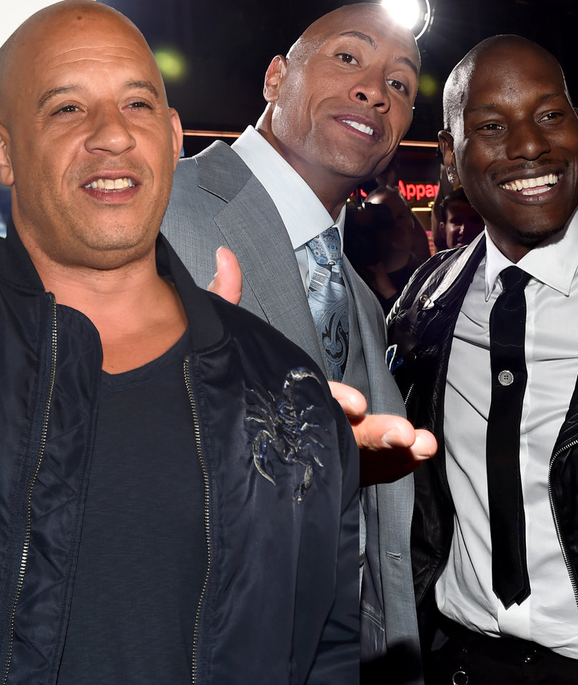 The Rock Says 'Candy Asses Need Not Apply' for 'Fast & Furious' Spinoff