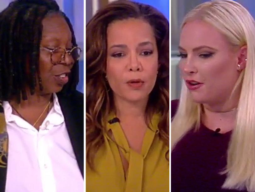 Meghan McCain Defends VP Mike Pence in #TakeAKnee Debate During 'View' Debut: 'I'm a Total Red State Girl'