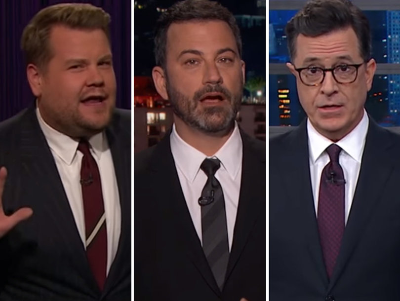 Late-Night Hosts Rail on 'Human Shrek' Harvey Weinstein