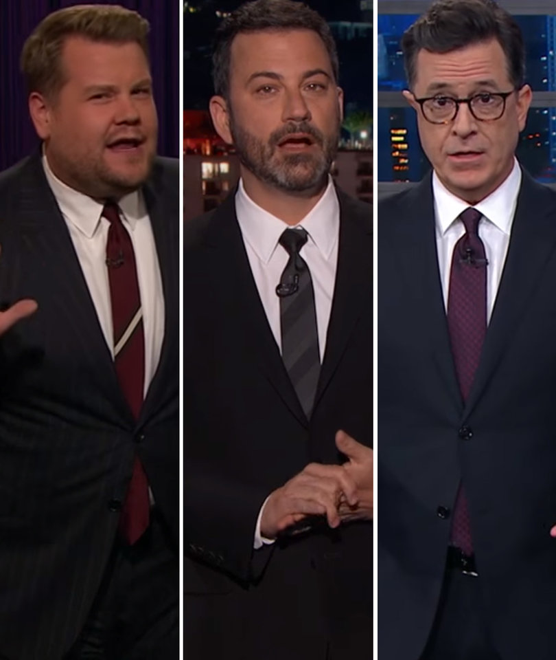 Late-Night Hosts Rail on 'Human Shrek' Harvey Weinstein
