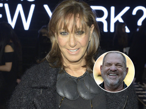 Donna Karan Feels Twitter's Wrath After Defending Harvey Weinstein