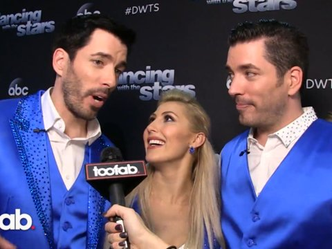 Drew Scott, Emma Slater and surprise guest Jonathan Scott on Their Pranks