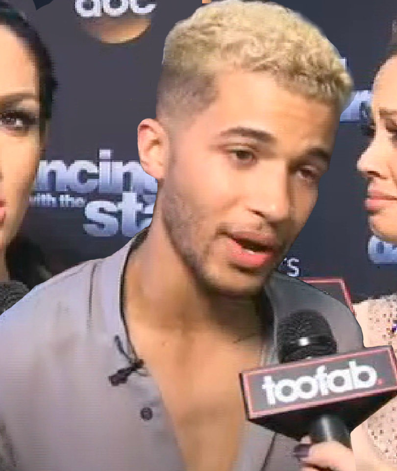Behind the Scenes with 'DWTS' As Cast Gets Choked Up During TooFab's Interviews