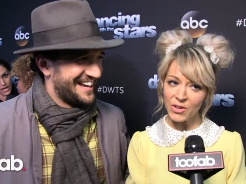 Lindsey Stirling and Mark Ballas on Her Late Father's Clothing Incorporated in the Dance