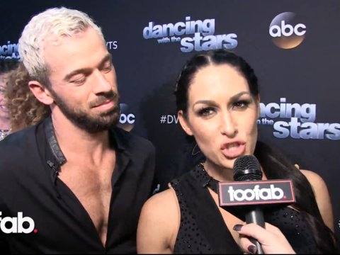 Nikki Bella and Artem Chigvintsev on Growing This Week