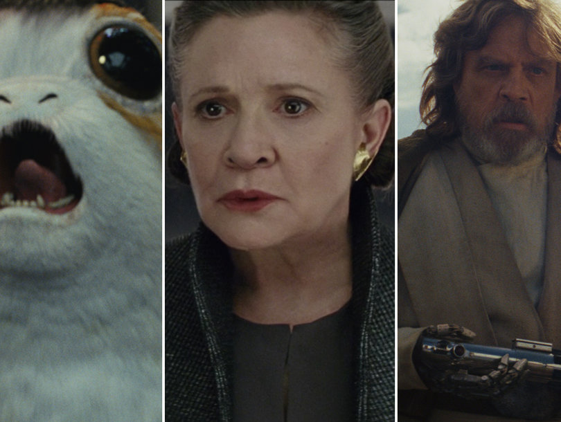 'Star Wars: The Last Jedi' Trailer Draws Priceless Reactions From Carrie Fisher's Dog Gary and Kate Hudson